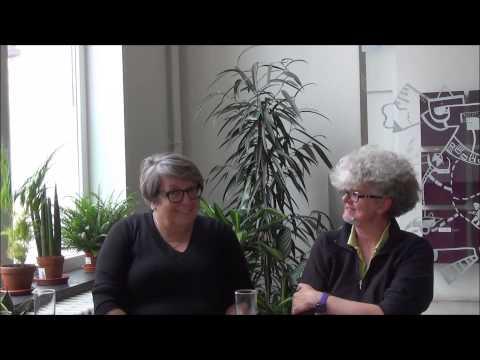 Ann David en Marleen De Smet over de lesbiennedagen.